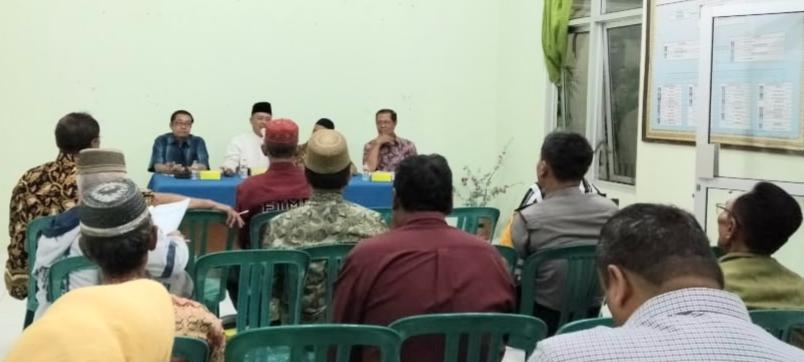 Pembinaan Camat Taman persiapan Lomba Gotong Royong Kelurahan Kuncen Th 2020